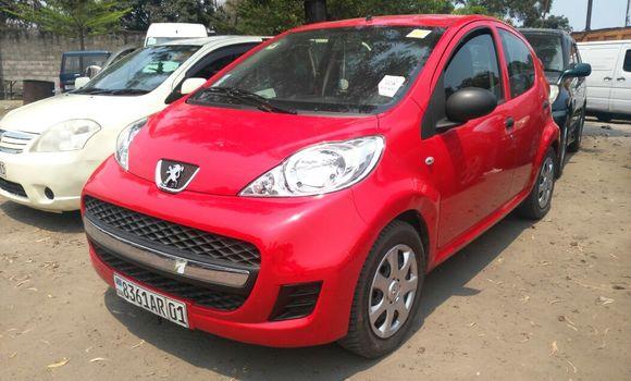 Voiture à vendre Peugeot 107 Rouge - Kinshasa - Limete