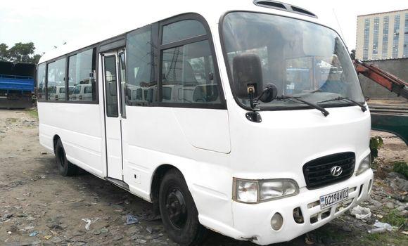 Voiture à vendre Hyundai County Blanc - Kinshasa - Limete