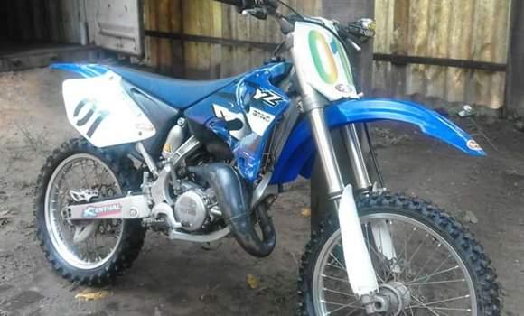 Moto à vendre Yamaha YZ125 Bleu - Kinshasa - Gombe