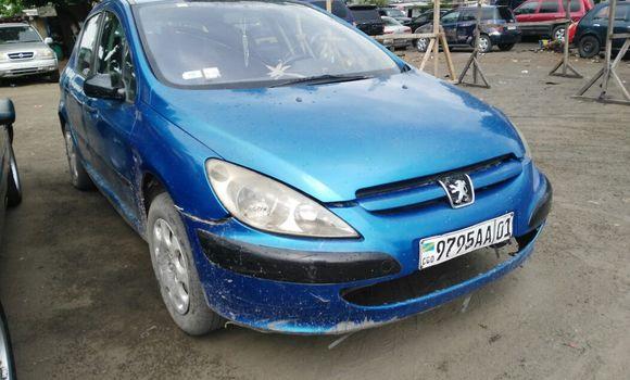 Voiture à vendre Peugeot 307 Bleu - Kinshasa - Kalamu