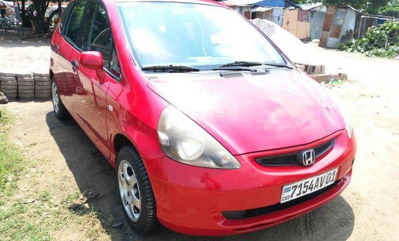 Voiture à vendre Honda Jazz Rouge - Kinshasa - Kalamu
