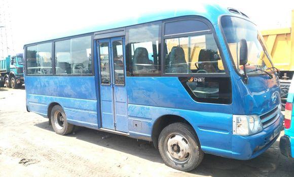 Voiture à vendre Hyundai County Bleu - Kinshasa - Kalamu