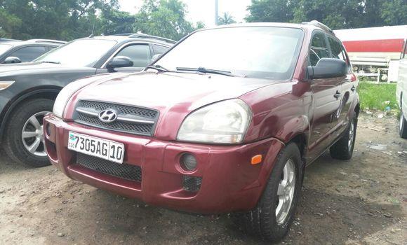 Voiture à vendre Hyundai Tucson Rouge - Kinshasa - Kalamu