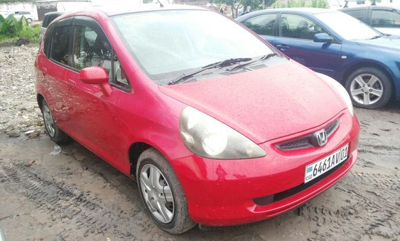 Voiture à vendre Honda Fit Rouge - Kinshasa - Limete