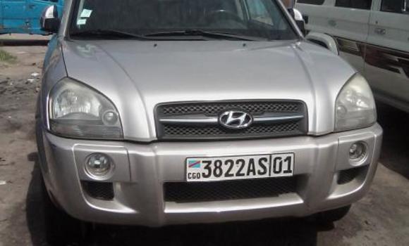 Voiture à vendre Hyundai Tucson Blanc - Kinshasa - Bandalungwa