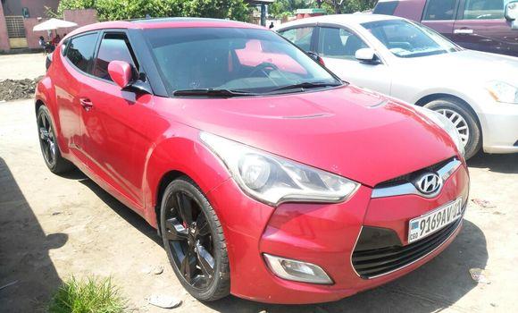 Voiture à vendre Hyundai Veloster Rouge - Kinshasa - Kasa Vubu