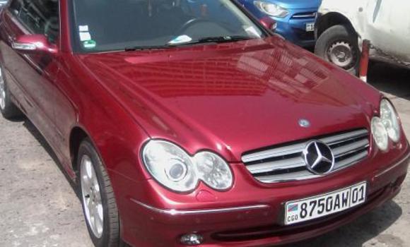 Voiture à vendre Mercedes Benz CLK-Class Rouge - Kinshasa - Bandalungwa