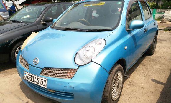Voiture à vendre Nissan March Bleu - Kinshasa - Limete