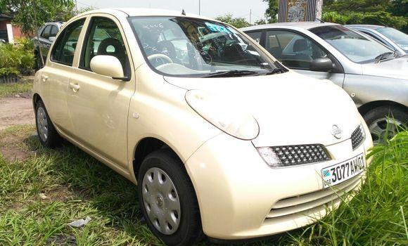Voiture à vendre Nissan March Beige - Kinshasa - Limete