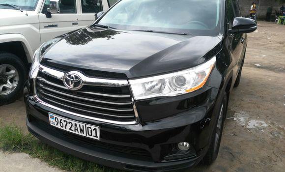 Voiture à vendre Toyota Highlander Noir - Kinshasa - Limete