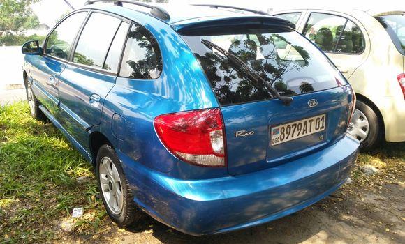 Voiture à vendre Kia Rio Bleu - Kinshasa - Limete