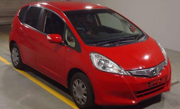 Voiture à vendre Honda Fit Rouge - Kinshasa - Bandalungwa
