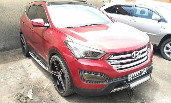 Voiture à vendre Hyundai Santa Fe Rouge - Kinshasa - Bandalungwa