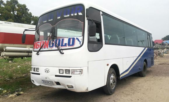 Voiture à vendre Hyundai County Blanc - Kinshasa - Kalamu