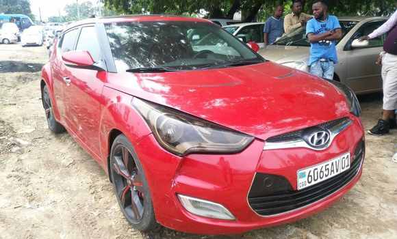 Voiture à vendre Hyundai Veloster Rouge - Kinshasa - Kalamu