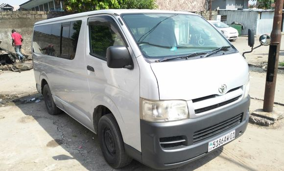 Voiture à vendre Toyota Hiace Gris - Kinshasa - Bandalungwa