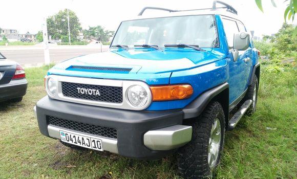 Voiture à vendre Toyota FJ Cruiser Bleu - Kinshasa - Limete