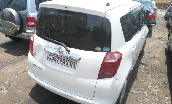 Voiture à vendre Toyota Ractis Blanc - Kinshasa - Kasa Vubu