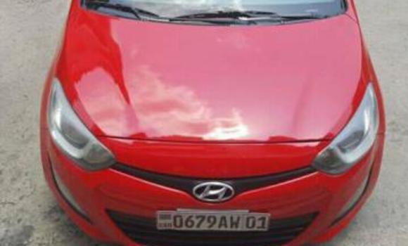 Voiture à vendre Hyundai i10 Rouge - Kinshasa - Bandalungwa
