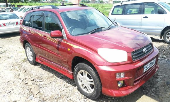 Voiture à vendre Toyota RAV4 Rouge - Kinshasa - Kalamu
