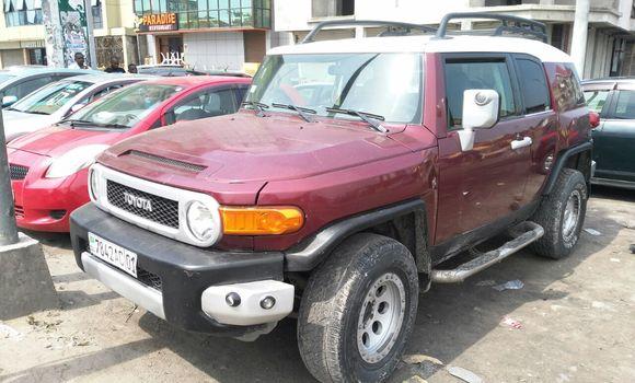 Voiture à vendre Toyota FJ Cruiser Rouge - Kinshasa - Kinshasa