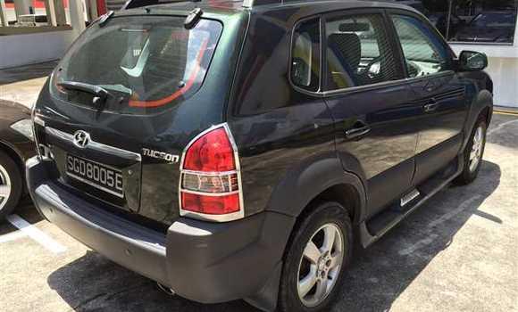 Voiture à vendre Hyundai Tucson Vert - Kinshasa - Ngaliema