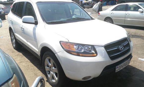Voiture à vendre Hyundai Santa Fe Blanc - Kinshasa - Kalamu