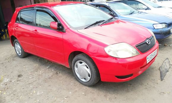 Voiture à vendre Toyota Runx Rouge - Kinshasa - Ndjili