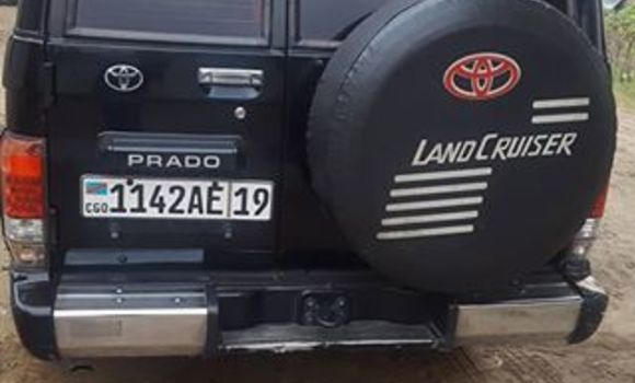 Voiture à vendre Toyota Land Cruiser Noir - Kinshasa - Bandalungwa