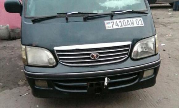 Voiture à vendre Toyota Hiace Vert - Kinshasa - Bandalungwa